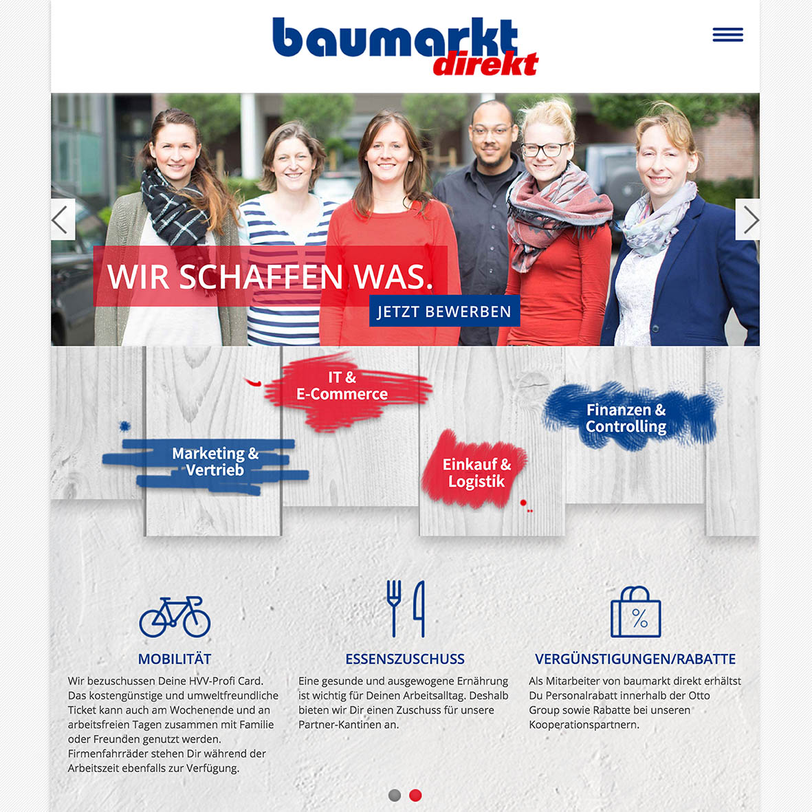 baumarkt direkt launcht karriere website. Black Bedroom Furniture Sets. Home Design Ideas