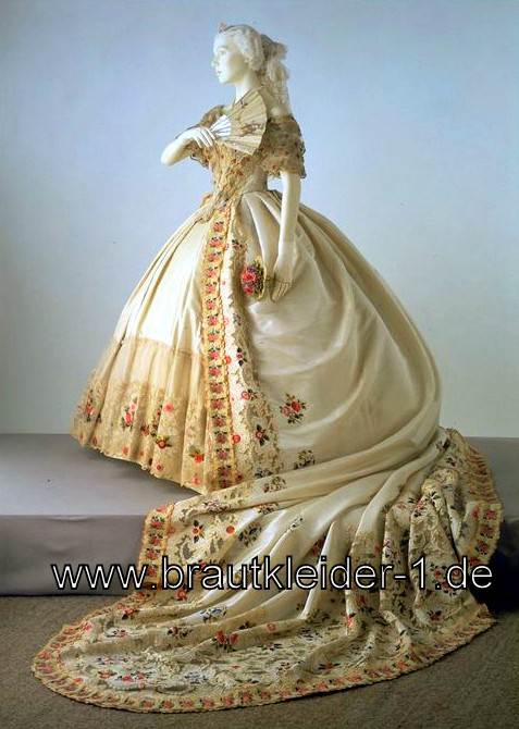 Das viktorianische Brautkleid bringt Königin Victoria zurück